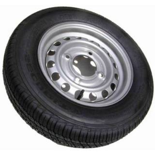 Wheel and tyre (twin axle DCU)
