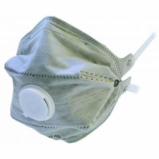 4023 FFP2 + Carbon fold flat disposable respirator