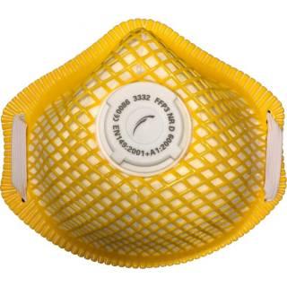 3332 FFP3 moulded disposable respirator