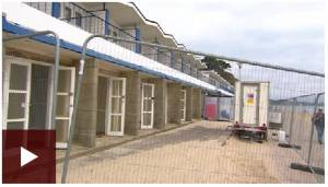 BBC video of asbestos being removed from beach huts in Poole
